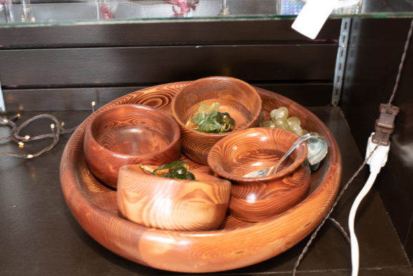 Tray with bowls