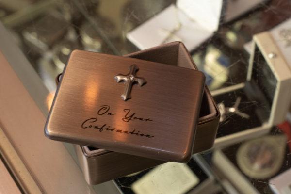 Confirmation rosary box