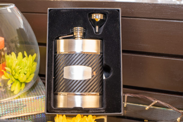 engravable flask